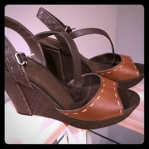 Wedge Sandals leather